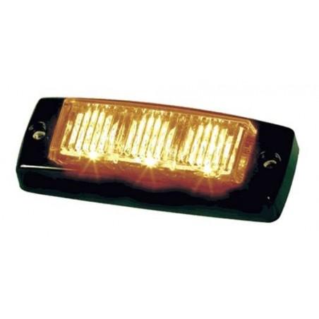 Météorit 3 LED orange - R65 - 10/30V - 89 x 34 x 22 mm