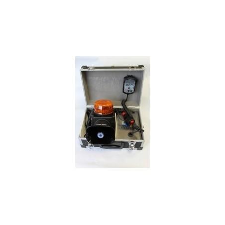 Ensemble portatif d'alerte orange à éclats - 12/24V