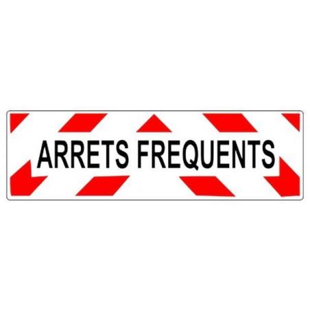 """""""Arrêts Fréquents"""" Plaque aluminium - 50x15 - Classe A"""