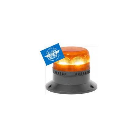 Gyroled OACI orange rotatig spécial aéroport - classe 1 - fixation plate - 10/30V - version XL