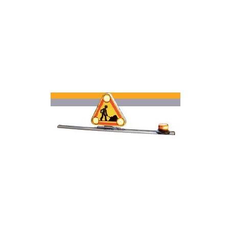 triangle à relevage électrique 700 - 1 gyroled rotatif - AK5 Classe 2- 1,50m