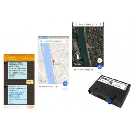 Système satellitaire MEDSKY MS10 avec modem GSM quadribande et module GPS - prévoir un abonnement