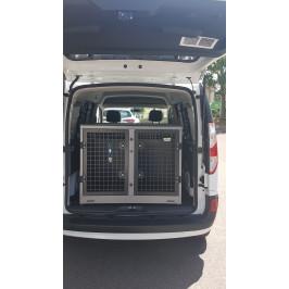 Cage sur mesure pour 2 chiens