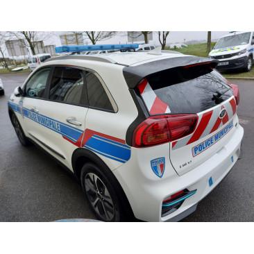 Sérigraphie Police Municipale
